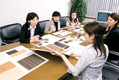 image of Japanese business meeting