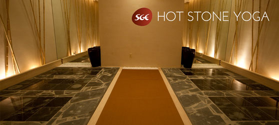 Hot Stone Yoga with SGE stone at Relaken