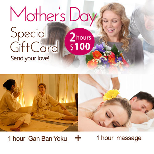 Mother's day special gift card