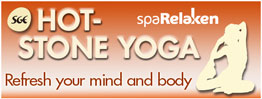 Hot Stone Yoga at spaRelaken